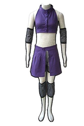 Love Anime Ninja Shinobi Cosplay Costume-Yamanaka Ino -