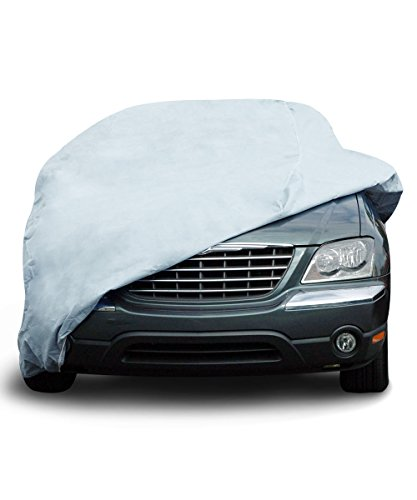 EmpireCovers Titan 5L Waterproof Car Cover Fits Cars up to 16' 8' Long...