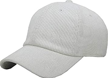 1baadee6d064f Image Unavailable. Image not available for. Color  Baseball Cap 6 Panel  Corduroy Dad Hat Baseball Classic Adjustable Soft Plain ...