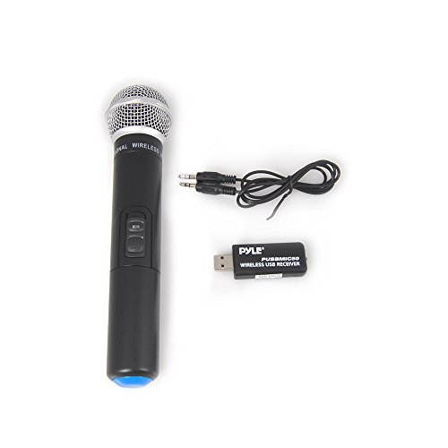 Pyle PUSBMIC50 Handheld Wireless Microphone