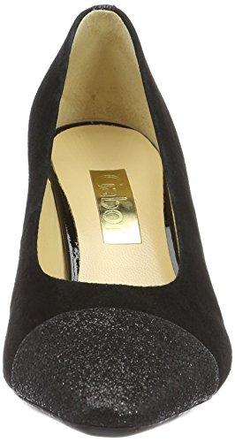 40 Scarpe Fashion con Schwarz Tacco Gabor Nero Donna qgw0TnxS