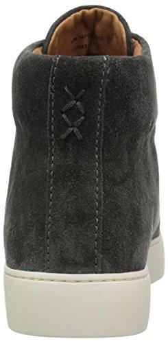 Suede Fashion Charcoal Frye Oiled Women's Soft Lena Sneaker Zip High vx7wRUqS