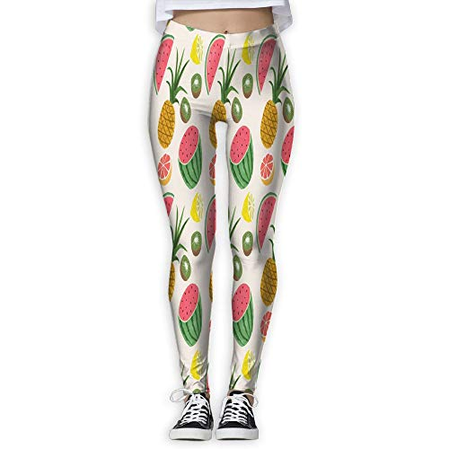 Price comparison product image Chu warm Womens Yoga Pants Pineapple Sunglass Slim Fit Leggings Sport Pant