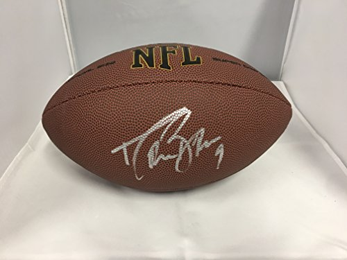 Drew Brees Autographed Signed New Orleans Saints NFL Football COA & (New Orleans Saints Signature Football)