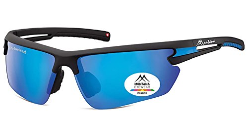 Montana Polarized Sports Sunglasses for Men Women Baseball Running Cycling Fishing Driving Golf Softball Hiking Sun Glasses - Block How Uv Sunglasses Rays