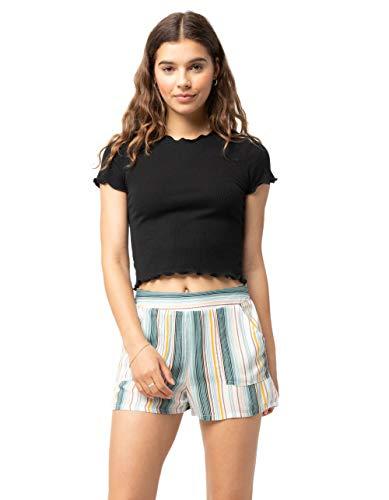 Sky and Sparrow Stripe Pork Chop Pocket Shorts, Multi, X-Small