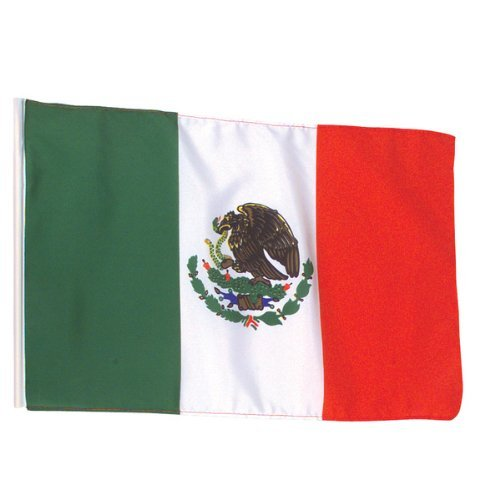 Cheap  Mexico Flag Polyester 3 ft. x 5 ft