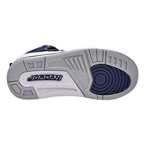 Nike Air Jordan Spizike Bp Little Kids Scarpe Da Pallacanestro Gym Red Midnight Navy / Metallic Silver-white