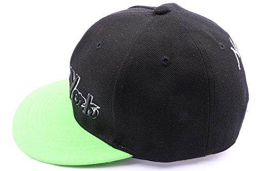 béisbol Hop única verde para de Honour Talla Verde Gorra hombre Hip O6vwIxI