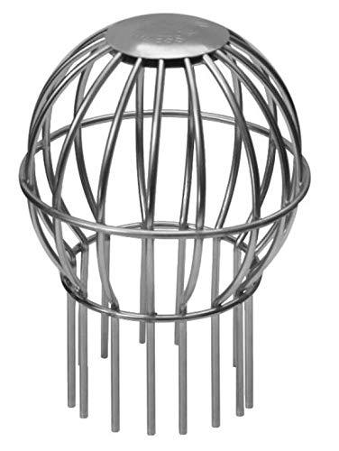 /Ø100mm oder /Ø150mm w/ählbar /Ø100mm Laubfanggitter /& Fallrohrgitter aus V4A Edelstahl Fallrohrgr/ö/ße