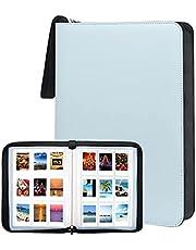 540 Pockets Photo Album for Fujifilm Instax Mini LiPlay 11 90 70 50S 26 25 9 8+ 8 7S Instant Camera/Mini Link SP-1 Printer,Polaroid Snap SnapTouch PIC-300 Z2300 Mint Zip Instant Camera Printer (Blue)
