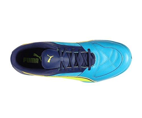 Puma Foot Chaussures En Salle Spécial Pour Bleu Jaune Homme r7Brq