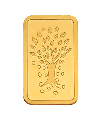 Buy Kundan 100 Gm 24kt Yellow Gold Bar Online At Low Prices In India Amazon Jewellery Store Amazon In