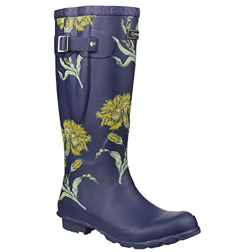 Cotswold Flower Windsor Womens Boots Printed Wellington Ladies Y8xqrwU4Z8