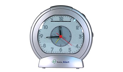 Sonic Boom SBA475ss Analog Loud Plus Vibrating Alarm Clock