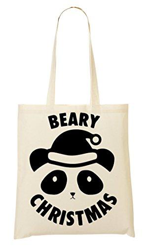 Panda Sac Tout Christmas Fourre À CP Cute Provisions Sac Beary 0axq4fqFwt