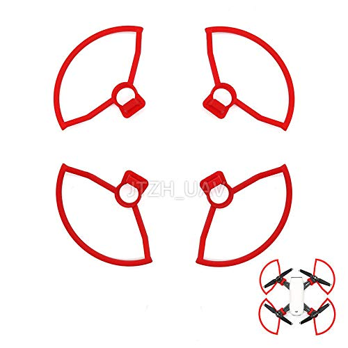 FidgetGear 4PCS Spark Propeller Guard Blade Props Protective Bumper for Spark Drone,Red from FidgetGear
