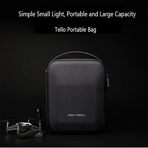 Leoie PGYTECH DJI Tello Portable Carrying Case Protective Storage Bag DJI Tello Drone Accessories