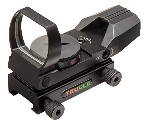 TRUGLO Open Red-Dot Sight Dual-Color Black (Truglo Tru Brite Open Red Dot Sight)