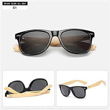 VINSHINE 14 Colores Gafas De Sol De Madera Cuadrados De ...