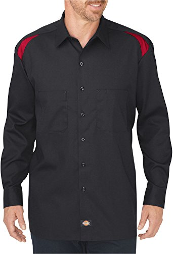 Dickies Herren Pullover Gr. Large, Black/English Red