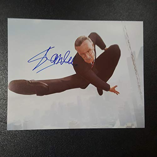 STAN LEE - Autographed Signed 8x10 inch Photograph Poster MARVEL CREATOR COA 2