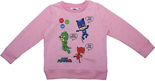 Pj Masks Childrens Girls Catboy Owelette Gekko Jumper Light Pink 5-6 Years New 2017-2018