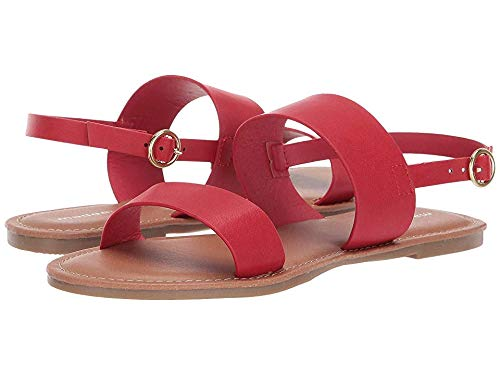 Red Girls Sandals - Madden Girl Aliviia Red Paris
