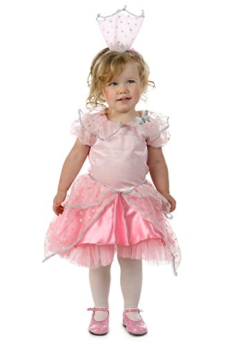 Princess Paradise Baby Girls' the Wizard of Oz Glinda Good Witch Glitter Deluxe Costume, Pink, 6 to 12 Months