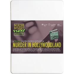 Murder Mystery Flexi Party Murder in Hollywoodland 4-12 Player