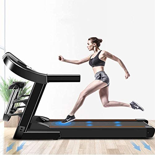 YFFSS Running Machines Desk Treadmill Electric Treadmill Household Model Folding Silent Indoor Fitness Weight Loss Walking Treadmill for Home and Office 2