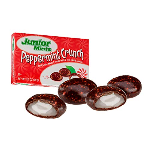 (Junior Mints Peppermint Crunch - 3.5-oz. Theater Box (Pack of 12))