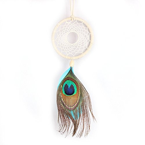 Handmade Dream Catcher Net Feather Wall Car Hanging Decoration Ornament Gift By HittecH by HittecH (Image #6)