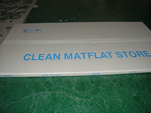 10 mats/Box, 30 Layers per Pad, 18'' x 36'', 4.5 C Blue Sticky mat, Cleanroom Tacky Mats/PVC Sticky Mats/Adhesive Pads, Used for Floor (for Home/Laboratories/Medical Offices use) by Cleanmo (Image #4)