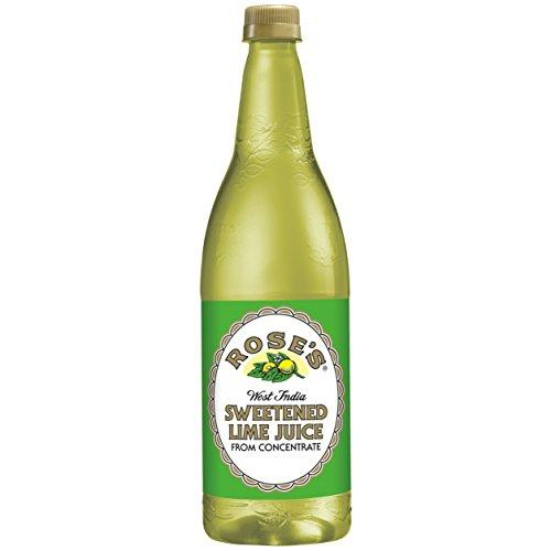 (Rose's Sweetened Lime Juice, 1 Liter Bottle (Pack of 12))