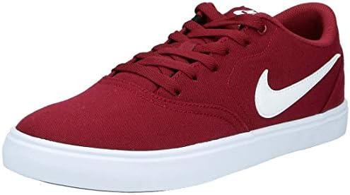 Nike Sb Check Solar Cnvs Men S Skateboarding Shoes Red Summit White 602 9 Uk 44 Eu Buy Online At Best Price In Uae Amazon Ae