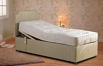 2ft6 3ft Single Divan Bed with Storage /& 20cm Deep Mattress