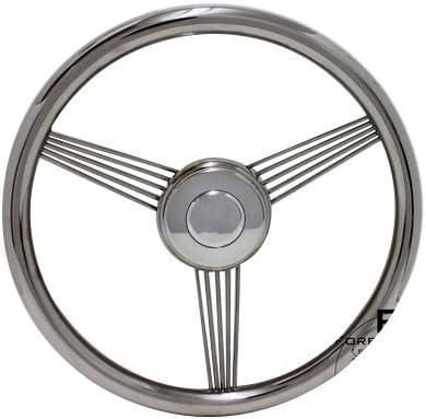 14 ForeverSharp Discord Light Wood Banjo Steering Wheel