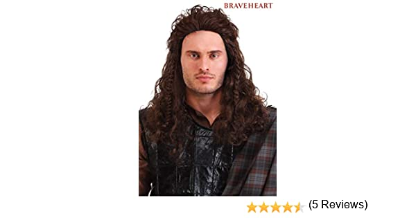 Fun Costumes Wig Braveheart William Wallace Standard: Amazon.es ...