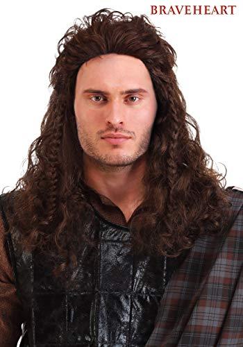 Fun Costumes Wig Braveheart William Wallace