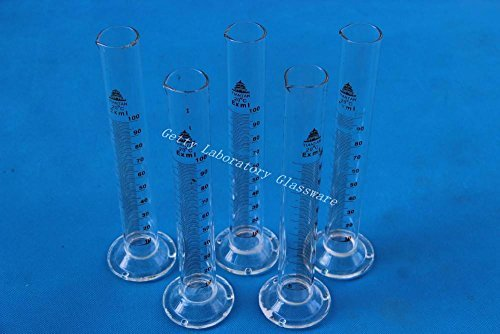 100 mL Lab Glass Measuring Cylinder, 5pcs/lot Beijing Getty Laboratory Glassware Co.