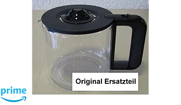 Repuesto Jarra/Jarra de cristal Bosch plástico negro para tka863 ...