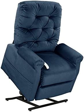 Easy Comfort Lift Chairs 2-Position Lift and Recline Chair, Blue