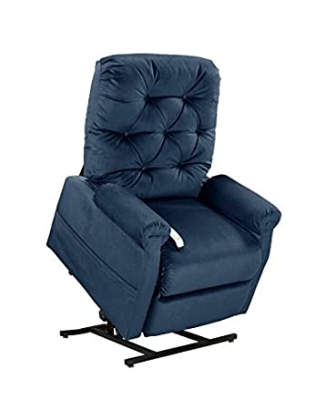 Easy Comfort Lift Chairs 2-Position Lift and Recline Chair Blue  sc 1 st  Amazon.com : easy chair lift - Cheerinfomania.Com