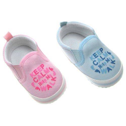 Baby Jungen Schuhe Blau–6/12Monate