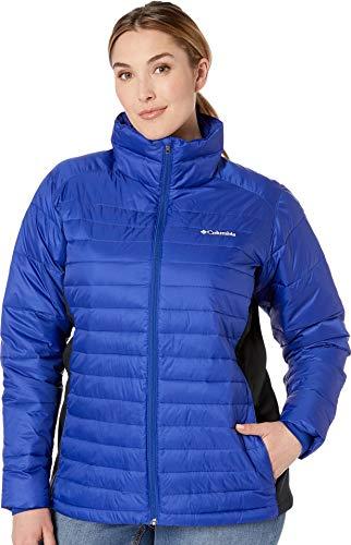 Columbia Women's SizePowder Plus Size Powder Pillow Hybrid Jacket, Dynasty/Black, ()