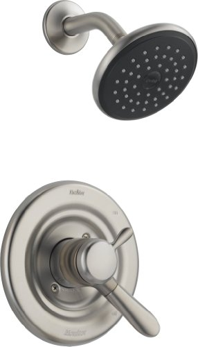 Delta Faucet T17238-SS Lahara Monitor 17 Series Shower Trim, Stainless (Delta Trim Valve Brushed Nickel compare prices)