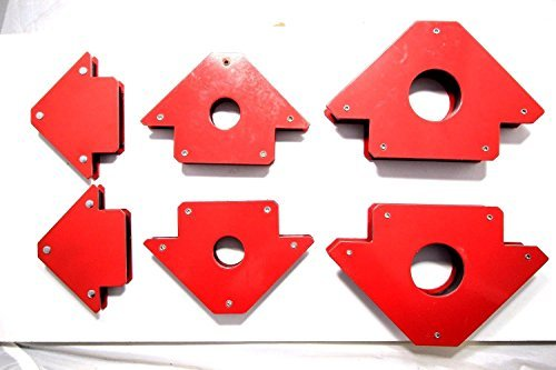 6 PC WELDING MAGNET ARROW TYPENEW 25LB, 50LB, 75LB by Vector Magnet Type