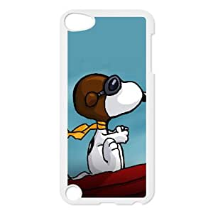 Cell Phone case Snoopy Cover Custom Case For Ipod Touch 5 MK9Q603480