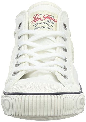Pepe Jeans London Jungen Industry Basic Low-Top Weiß (800WHITE)